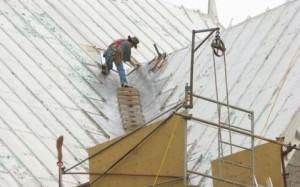 Ремонт металлической крыши