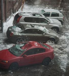 снегоудержатели