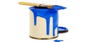 Краска на кухне