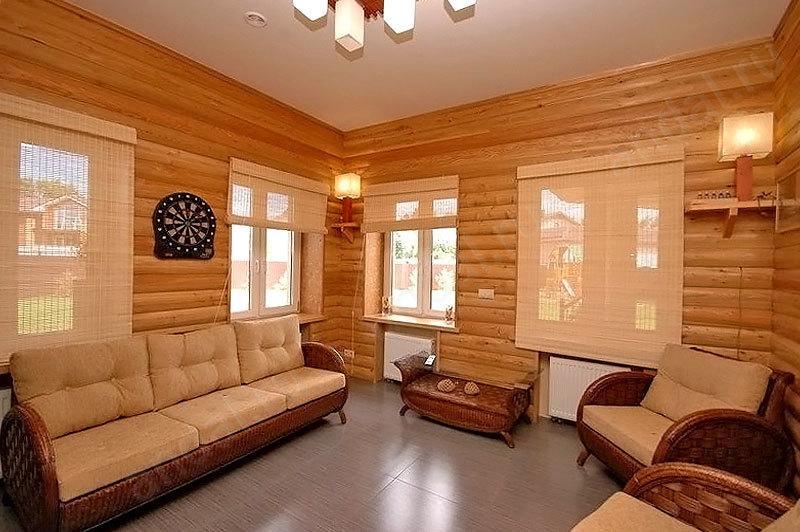 цветами блок хаус внутренняя отделка фото работ пол сантиметра если