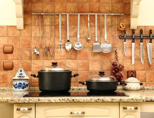 плитка на кухне фартук фото