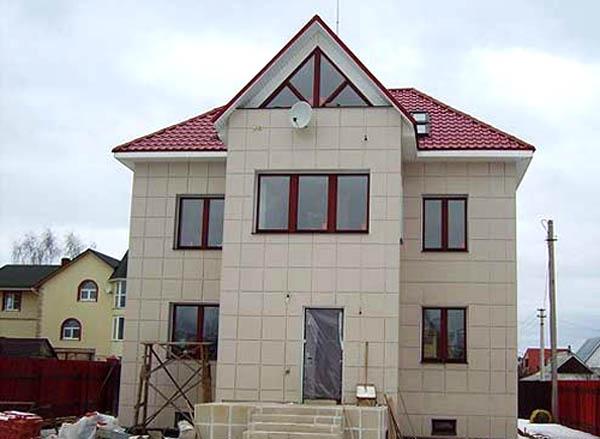 плитка керамогранит для фасада