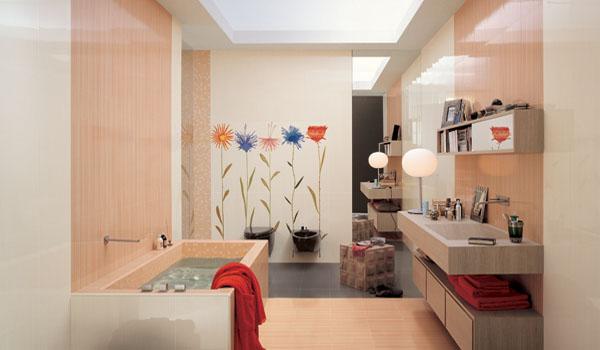 последовательность укладки плитки в ванной