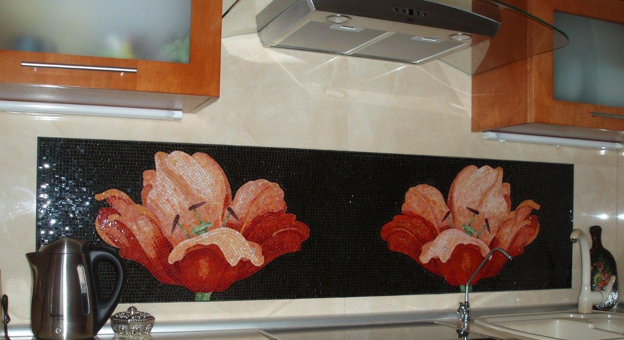 плитка мозаика для кухни цена