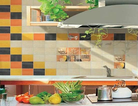 варианты выкладки плитки на кухне