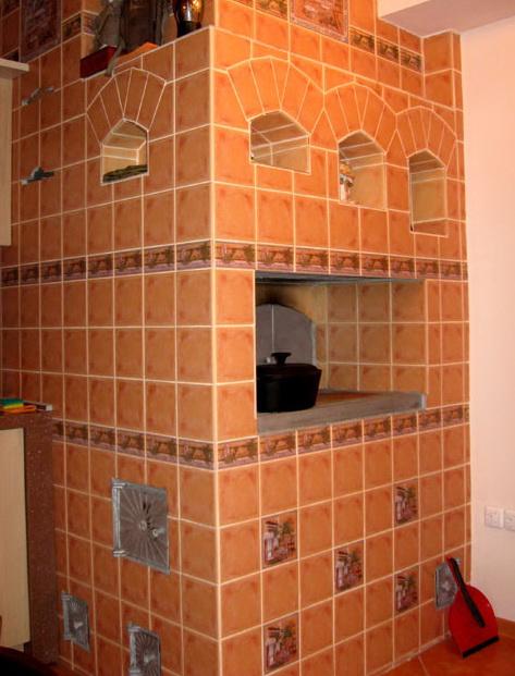керамическая плитка для облицовки каминов
