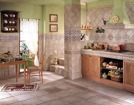раскладка плитки на кухне фартук