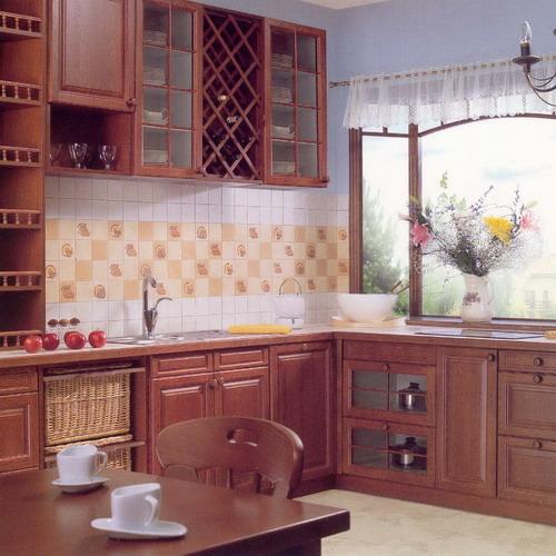 дизайн укладки плитки на кухне