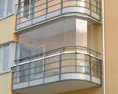 остекление балконов видео
