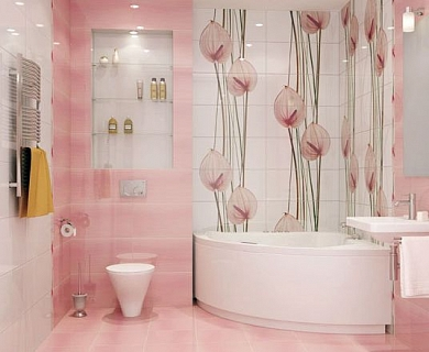 выбор плитки для ванной