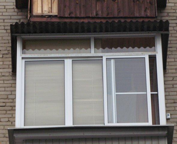 алюминиевое остекление балконов цена