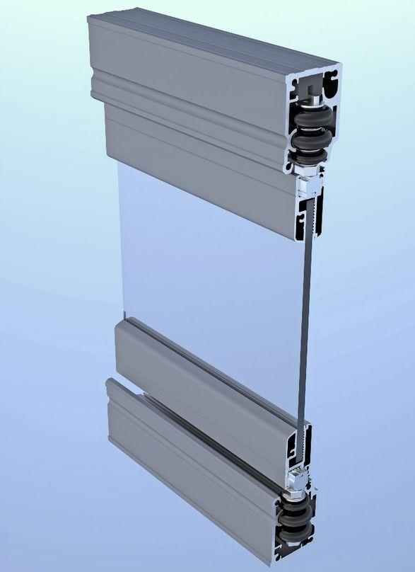 радиусное остекление балконов