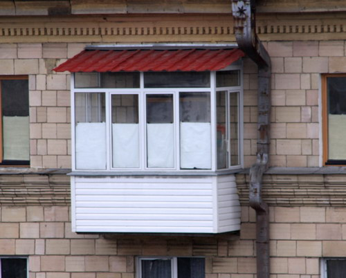 остекление балконов в хрущевке фото
