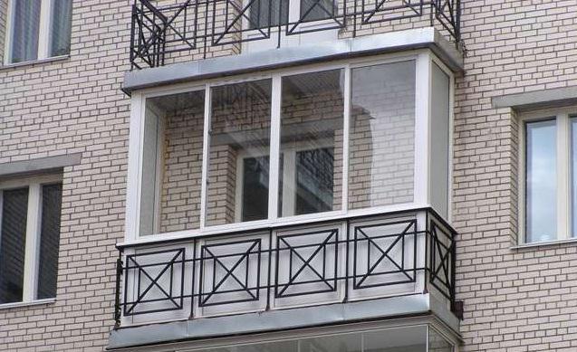 остекление балконов стеклом