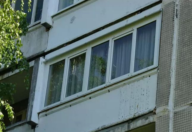 остекление балкона п 44