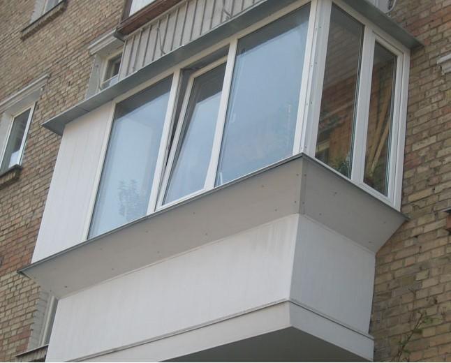 остекление балконов п44
