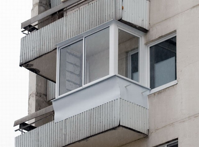остекление балконов п 3