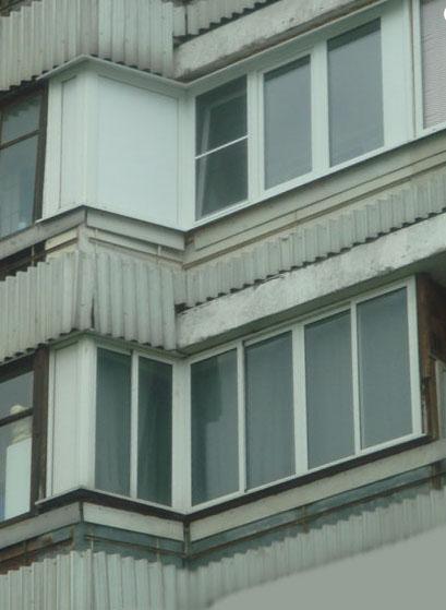 остекление балконов п 44т