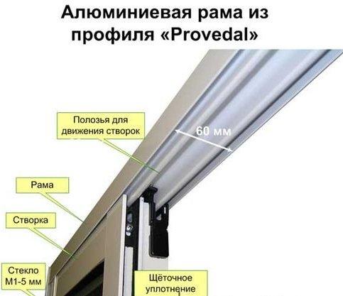 остекление балконов раздвижные окна
