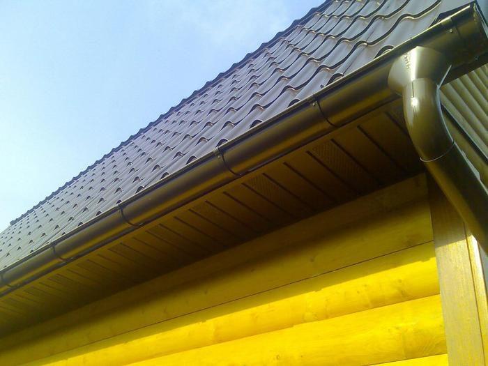 подшивка крыши вагонкой