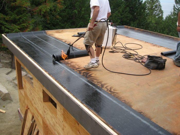 бикрост как укладывать на крышу