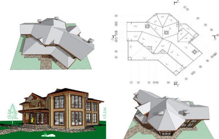 проектирование сложных крыш
