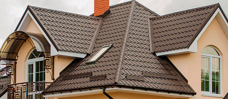 крыши из металлочерепицы
