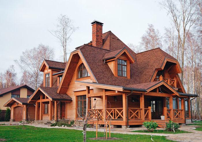 крыша сложной конфигурации