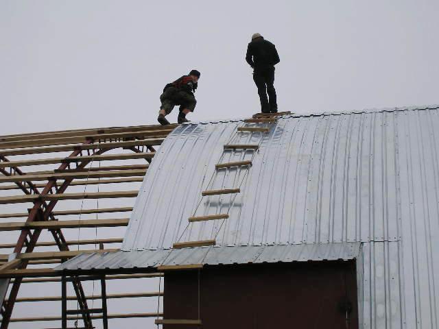 материалы для покрытия покрытия дугообразной крыши