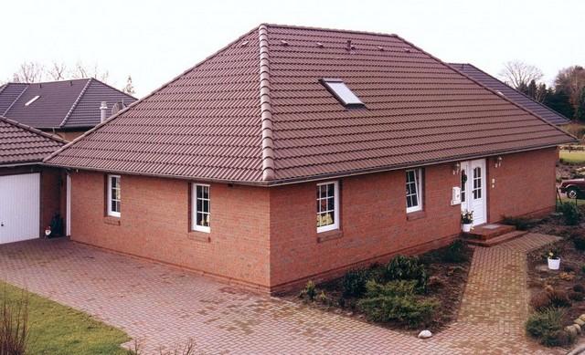вальмовая конструкция крыши