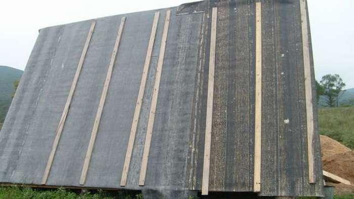 как правильно стелить рубероид на деревянную крышу