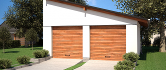 дноскатная крыша для гаража