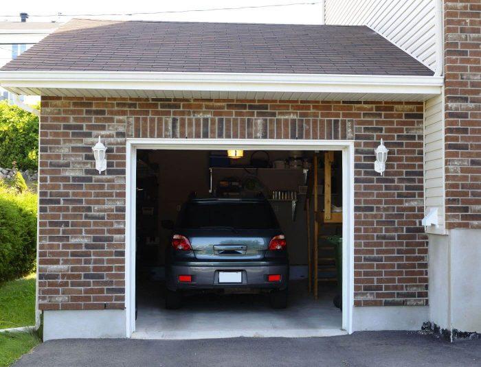 плоская кровля гаража
