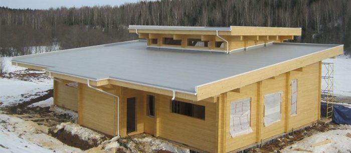 виды утепляемых плоских крыш