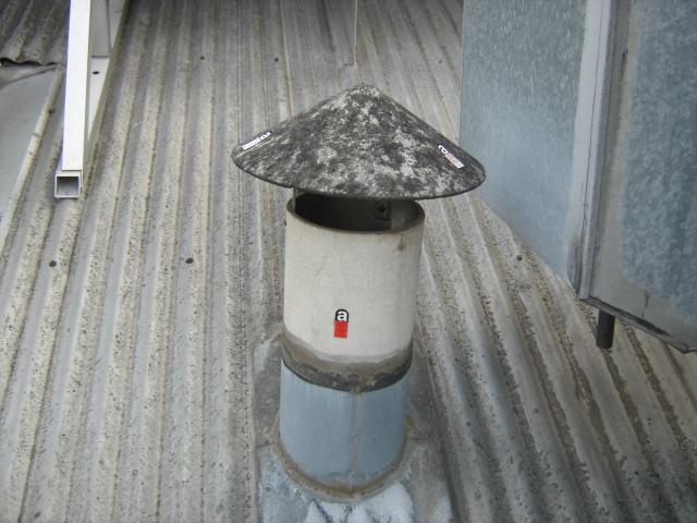 герметизация кровли дымоходной трубы