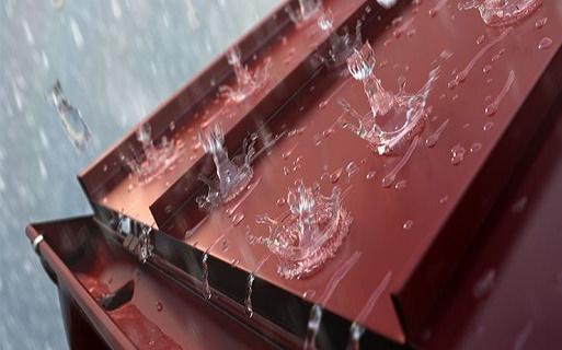 металлочерепица шумит при дожде