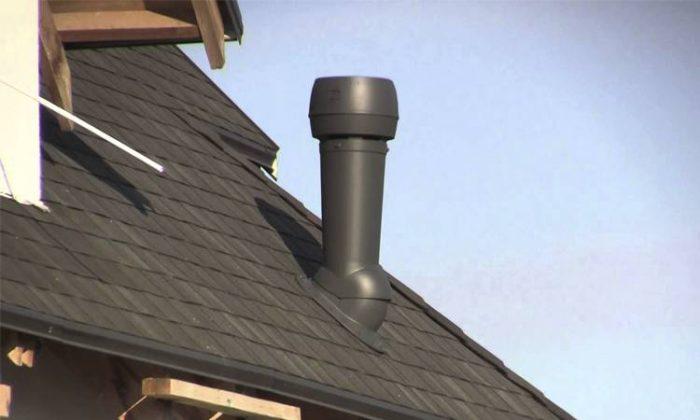 вывод фановой трубы на крышу