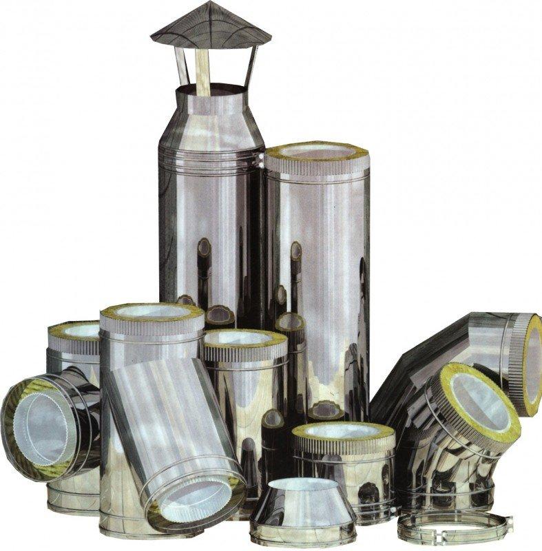 преимущества металлических дымоходов