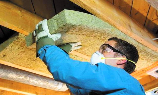 теплоизоляция минеральной ватой