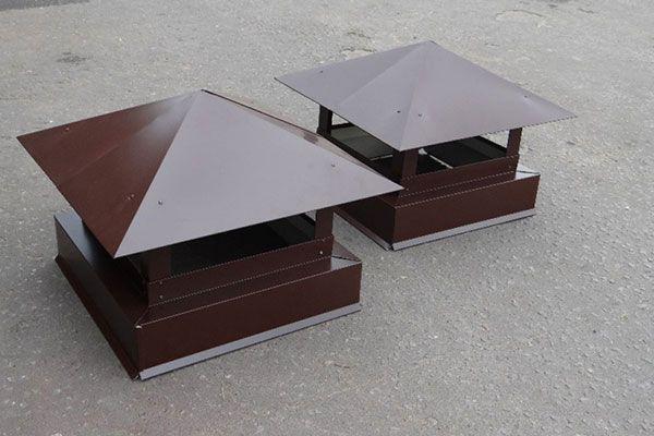 металлические колпаки для дымохода