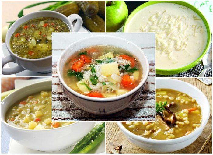 Рецепты простых супов