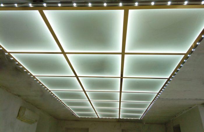 стеклянный потолок