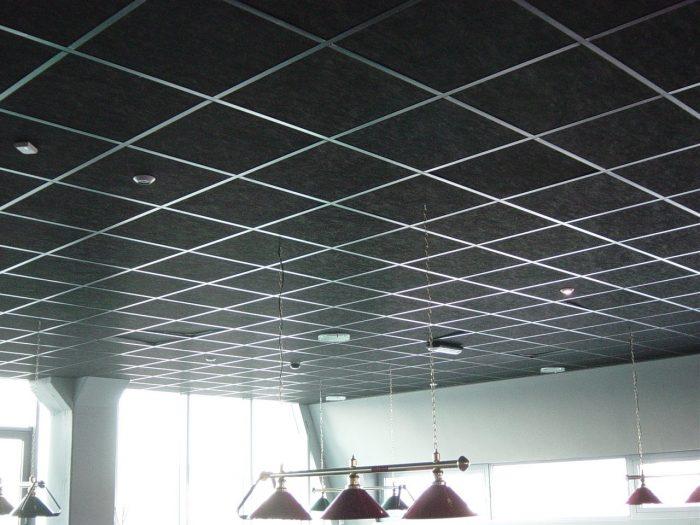 стандартный потолок армстронг