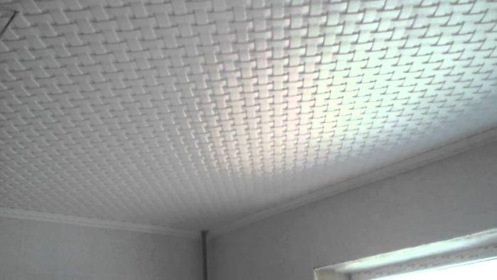 потолочная плитка бесшовная