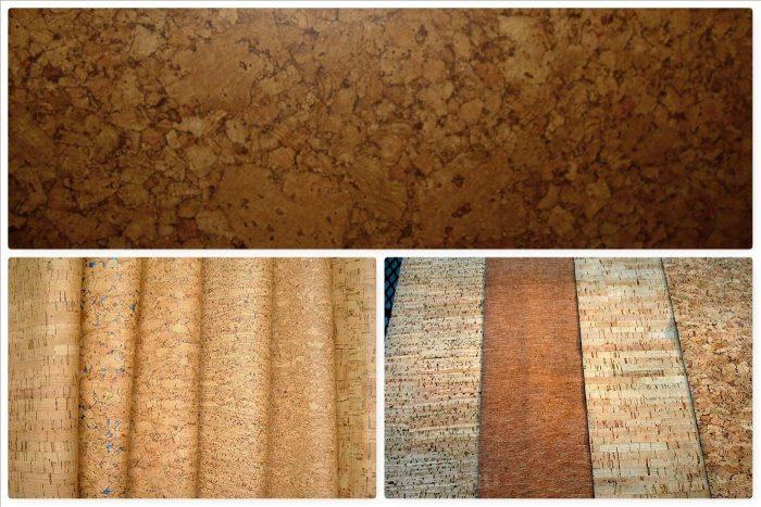 разновидности пробкового покрытия для потолка
