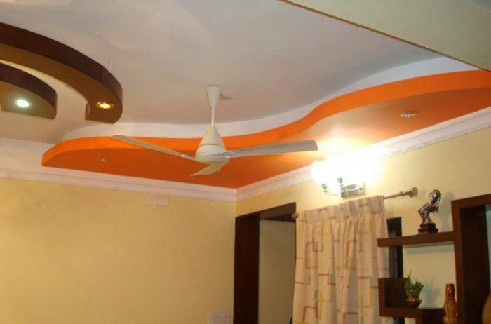 диагональные потолки