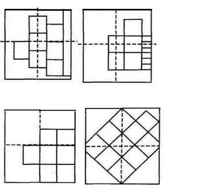варианты укладки плитки на потолок