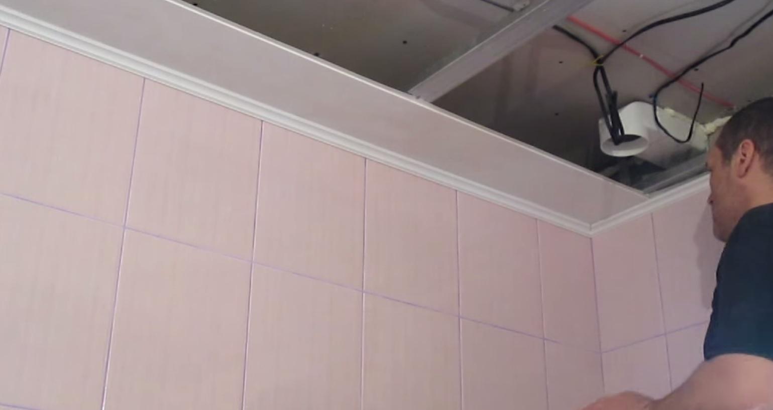 потолок из панелей пвх своими руками пошаговая