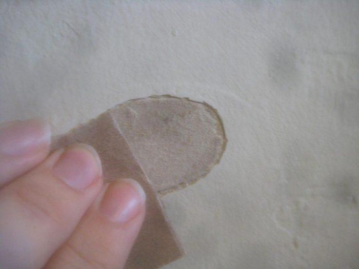 заделка дыр в потолке из гипсокартона