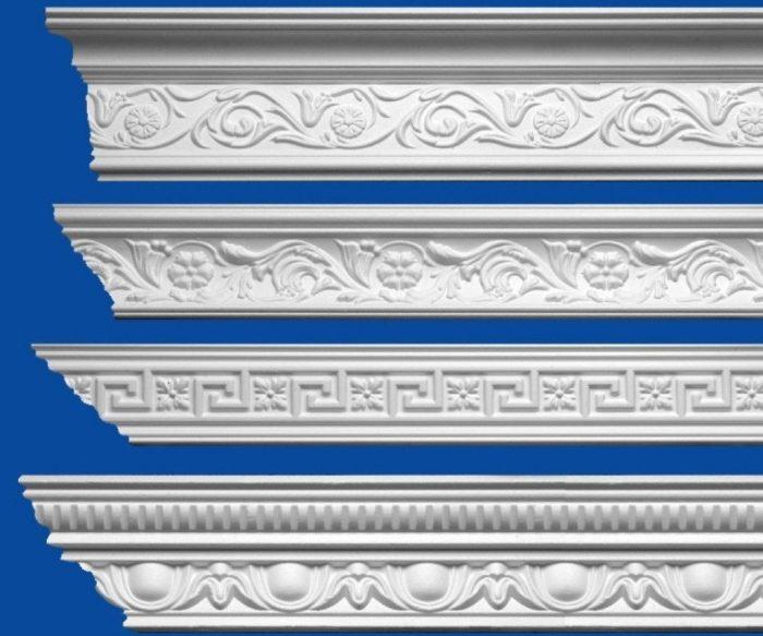 декоративные потолочные плинтуса